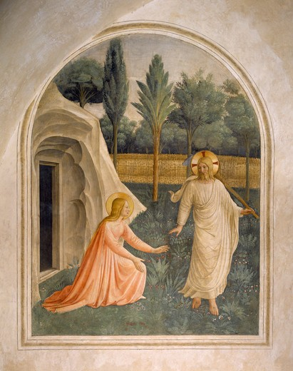 Stock Photo: 463-283882 Fra Angelico / Noli me tangere / c.1437