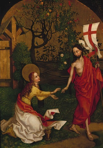 Stock Photo: 463-283884 Noli me tangere / Schongauer