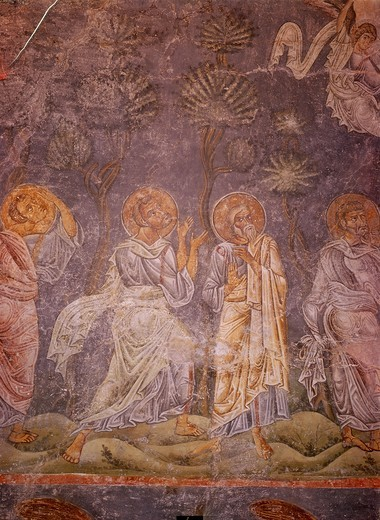 Ascension of Christ / Ohrid / C11th : Stock Photo