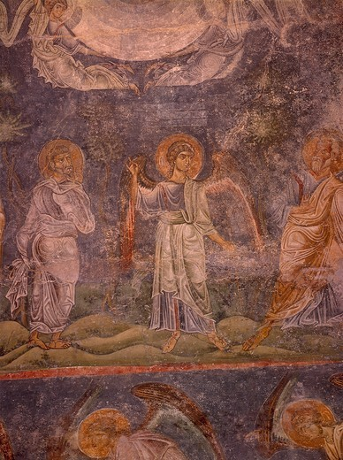 Stock Photo: 463-283902 Ascension of Christ / Ohrid / C11th