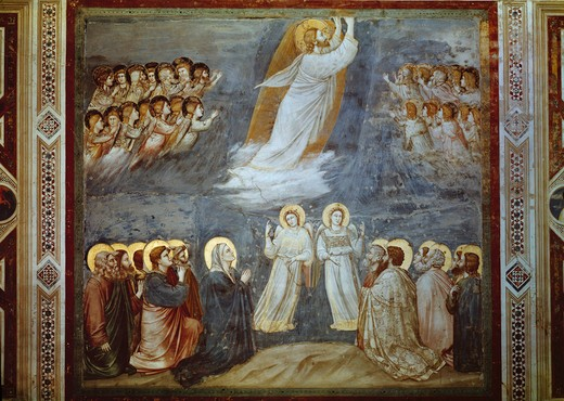 Stock Photo: 463-283904 Ascension of Christ / Giotto / c.1303/05
