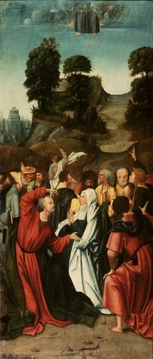 Stock Photo: 463-283908 The Ascension / Master of Antwerp/ C16th