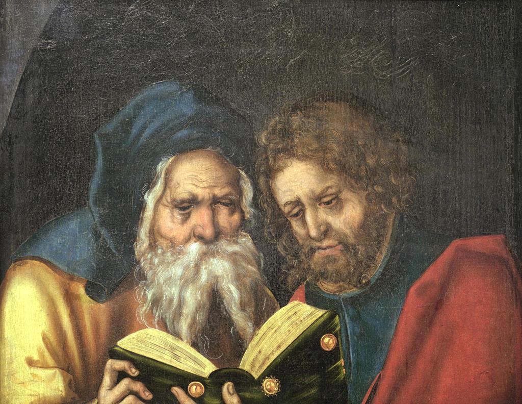 Stock Photo: 463-283924 Cranach t.E/Apostles Thaddaeus and Simon