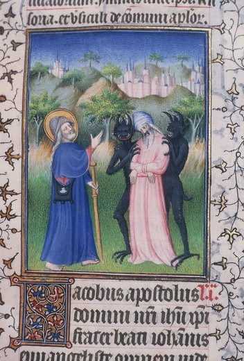 Conversion of Hermogenes/Illumin./c.1410 : Stock Photo