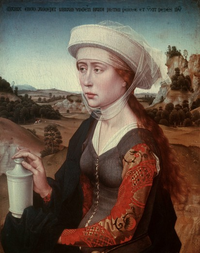 Stock Photo: 463-283977 van der Weyden / Mary Magdalene / c.1451
