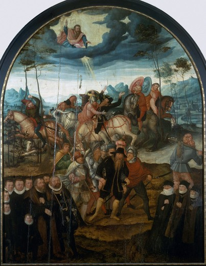Stock Photo: 463-283995 Conversion of Paul / Augustin Cranach