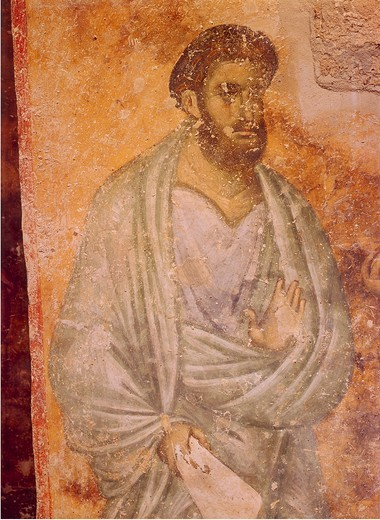 Stock Photo: 463-284026 The Apostle Thomas / Sopocani / c.1265