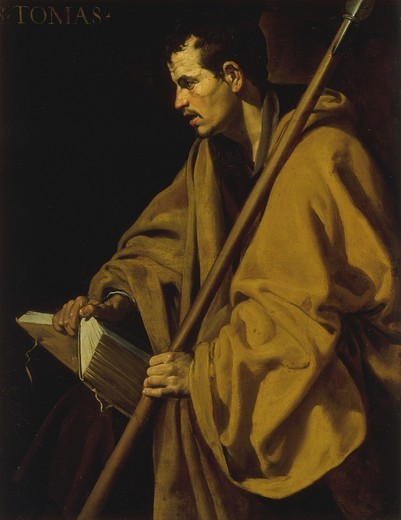 Velazquez / Thomas the Apostle : Stock Photo