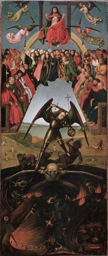 Stock Photo: 463-284044 Last Judgement / Petrus Christus / 1452