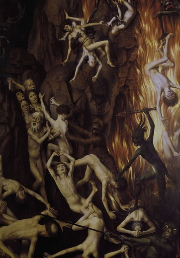 Altar of the Last Judgement / Memling : Stock Photo