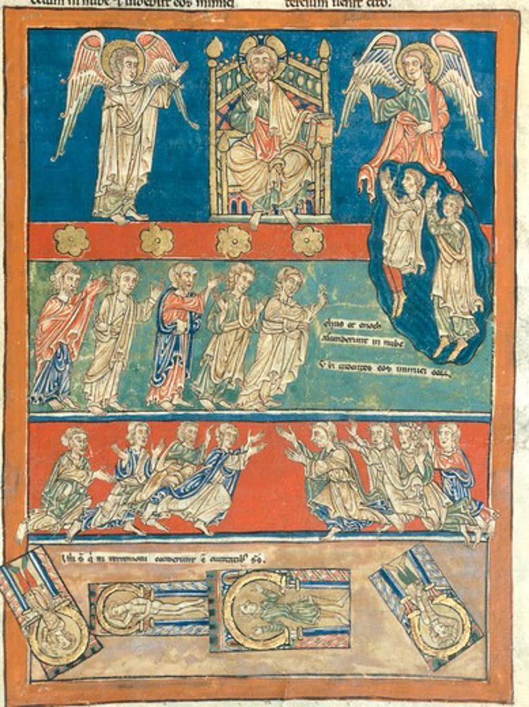 Beatus of  S.Pedro de Cardena/ Illumin. : Stock Photo