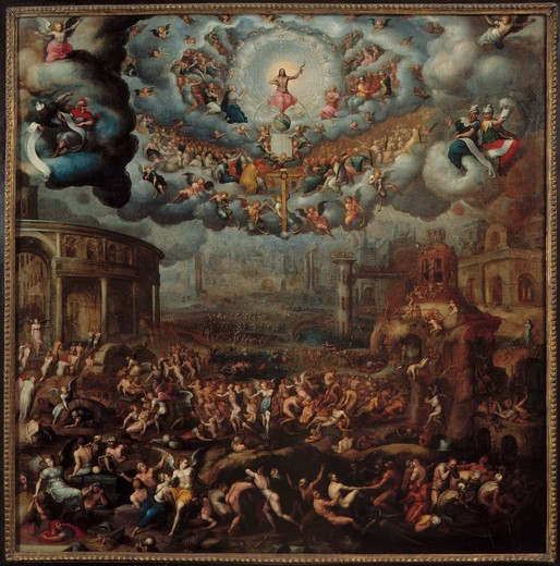 Stock Photo: 463-284082 The Last Judgement / Cousin the Younger