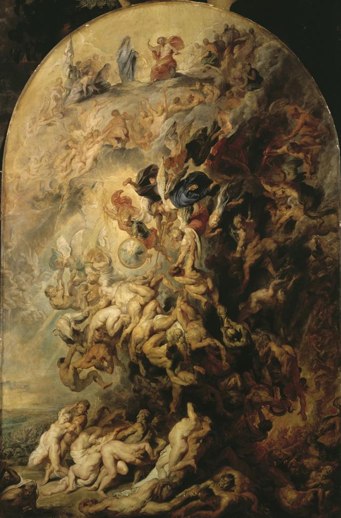 Stock Photo: 463-284085 P.P. Rubens, The Day of Judgement c.1620