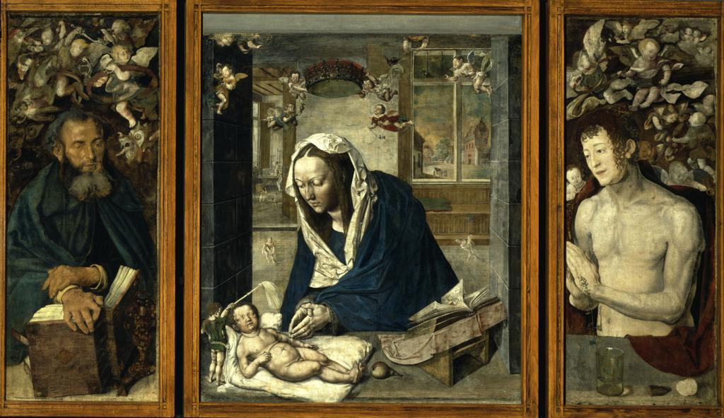 Duerer, Dresden Altar : Stock Photo