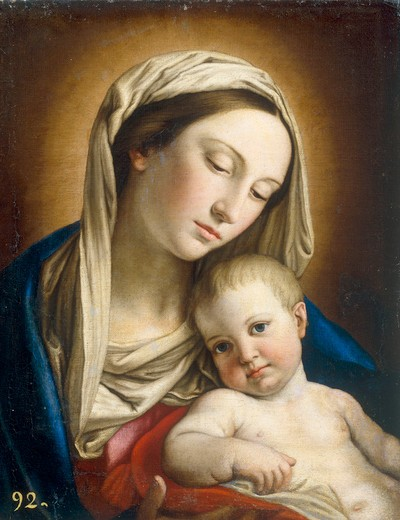 Stock Photo: 463-284169 Tiepolo / Madonna and Child