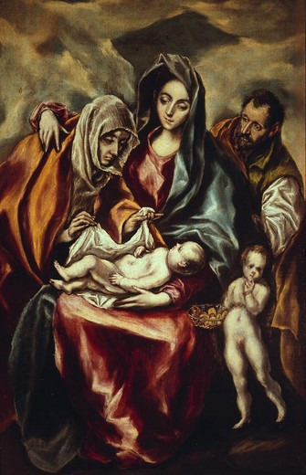 Stock Photo: 463-284207 El Greco / The Holy Family
