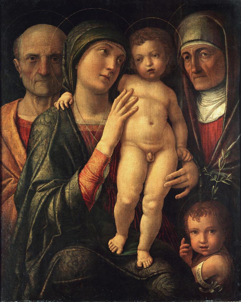 The Holy Family / Mantegna / c.1485/90 : Stock Photo