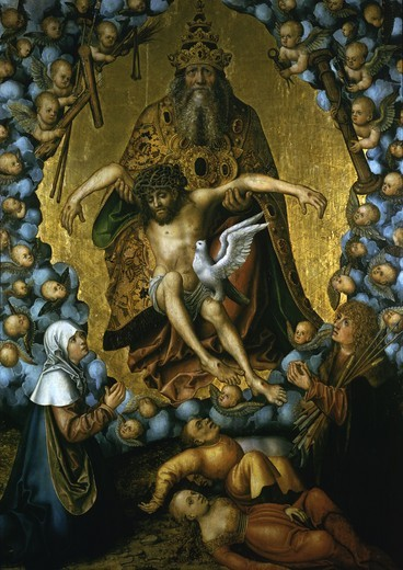 Stock Photo: 463-284315 L.Cranach the Elder / The Trinity