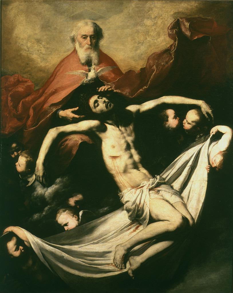 Stock Photo: 463-284317 The Holy Trinity / Ribera