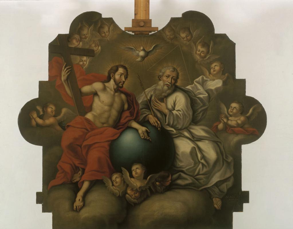The Holyb Trinity / Escalera y Dominguez : Stock Photo