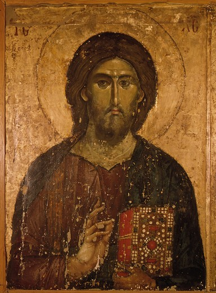 Stock Photo: 463-284332 Christ the Saviour / Hilandar Monastery