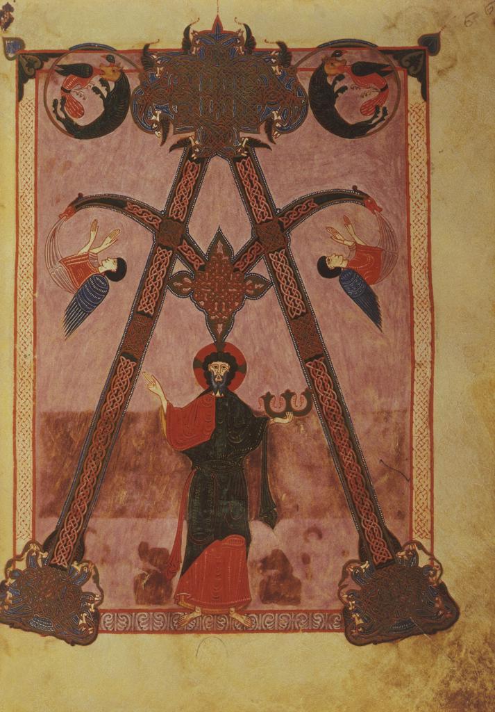 Stock Photo: 463-284343 Christ as A and O / Illumination / 1047