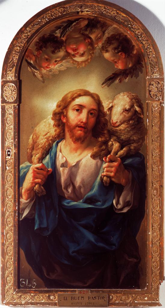 The Good Shepherd / Lopez y Portana : Stock Photo