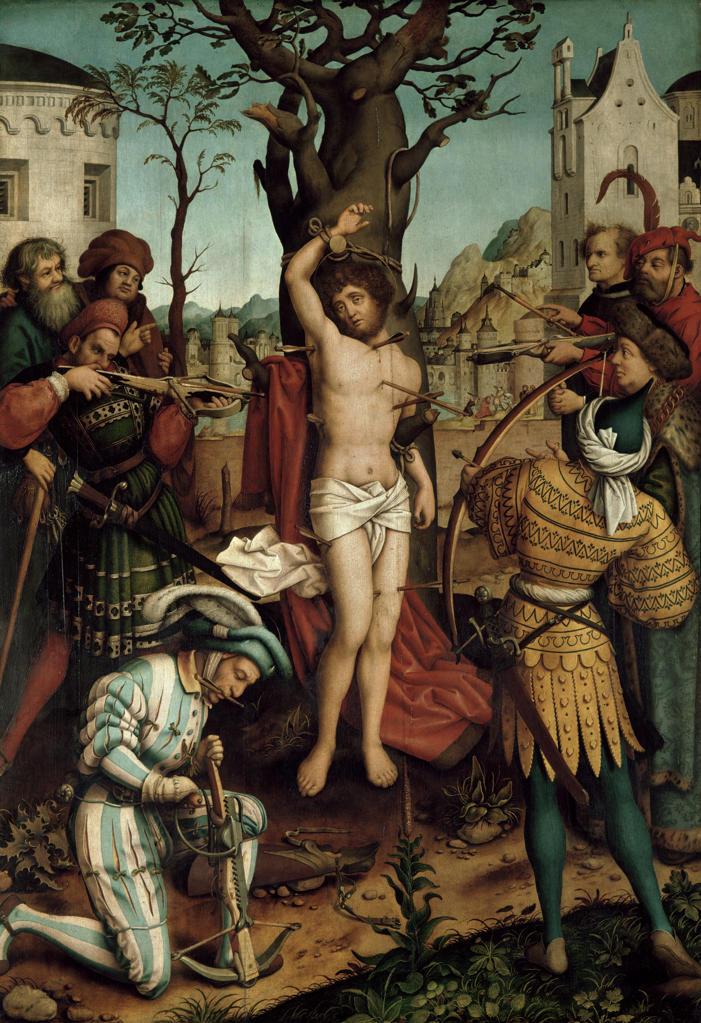 Stock Photo: 463-284439 H.Holbein t.E., / Martyrdom Sebastian