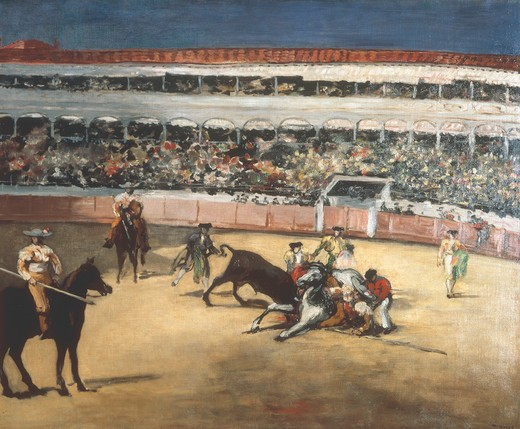 Stock Photo: 463-284471 Edouard Manet / Bullfight