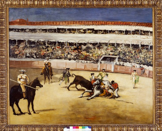 Stock Photo: 463-284486 Manet / Bullfight / 1865/66
