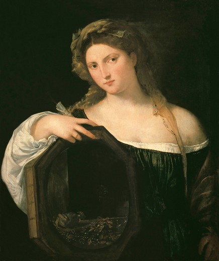 Stock Photo: 463-284550 Titian / Vanity of the World / c. 1515