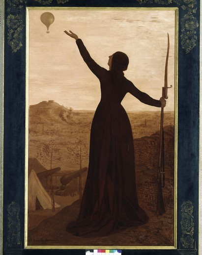Stock Photo: 463-284695 Siege of Paris / Puvis de Chavannes