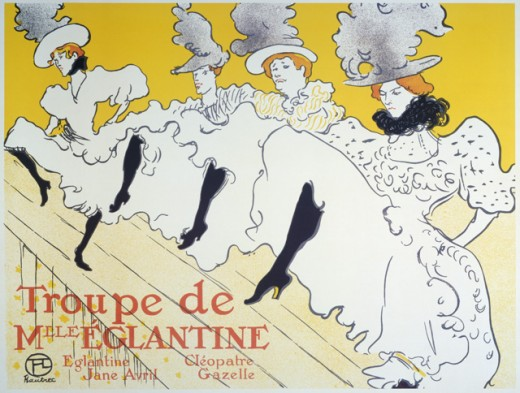 Stock Photo: 463-3056 La Troupe de Mlle Eglantine