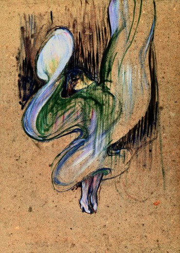 Stock Photo: 463-3064 Loie Fuller at the Folies-Bergere 