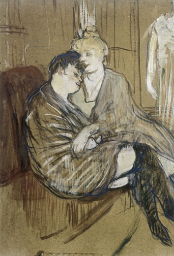 Stock Photo: 463-3066 The Two Friends 