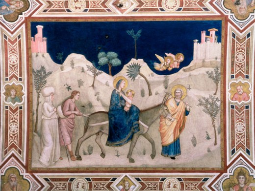 Stock Photo: 463-3262 Flight Into Egypt 