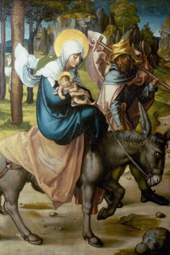 Stock Photo: 463-3283 The Flight Into Egypt 