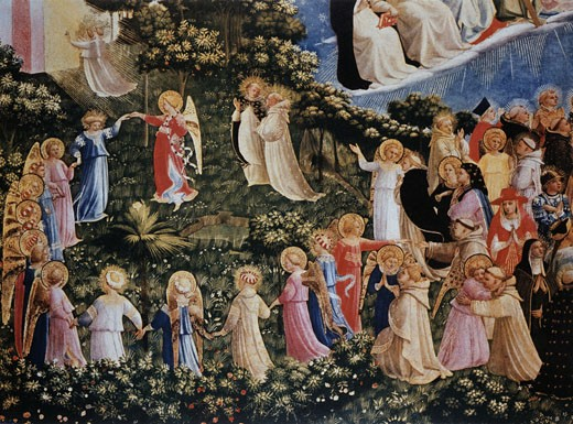 Stock Photo: 463-3441 Last Judgment-Dance Of The Angels And Saints
