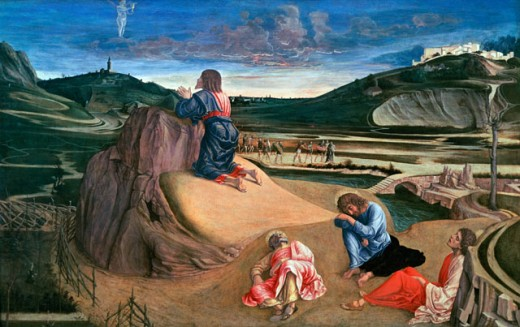 Stock Photo: 463-3640 The Agony in the Garden