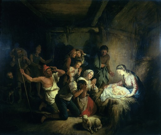 Stock Photo: 463-3716 The Adoration of the Shepherds
