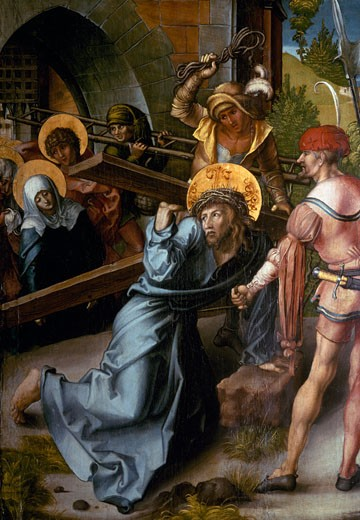 Stock Photo: 463-3720 Christ Bearing the Cross