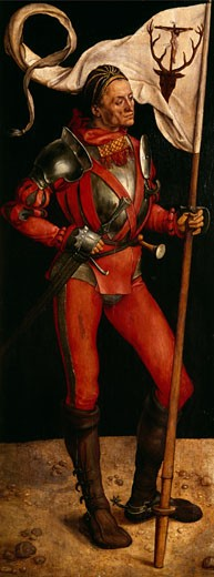 Stock Photo: 463-3753 Lukas Paumgartner as St. Eustace