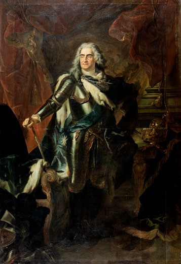 Stock Photo: 463-3757 August II, the Strong, King of Poland