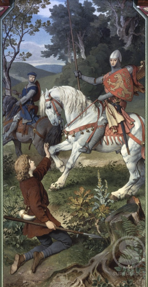 Meeting with the Knight