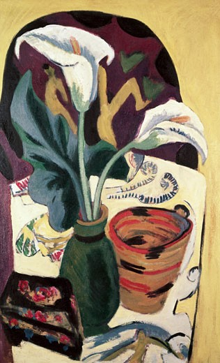 Stock Photo: 463-3816 Still Life With Calla