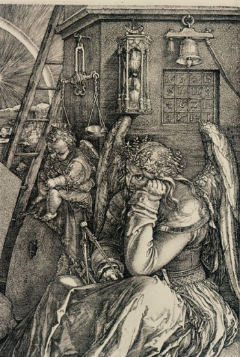 Stock Photo: 463-3866 Melancolia I (detail) 