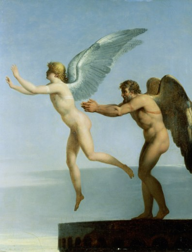 Stock Photo: 463-3993 Daedalus And Icarus