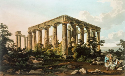 Stock Photo: 463-4026 Temple of Athena
