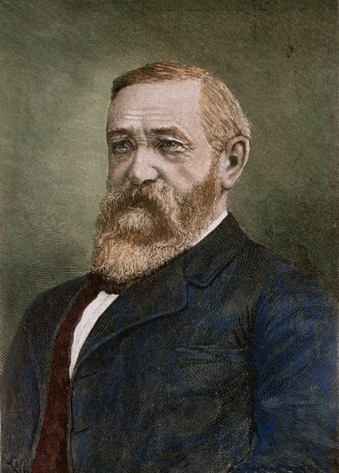 Stock Photo: 463-4092 Benjamin Harrison