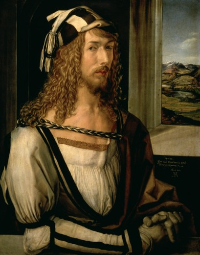 Stock Photo: 463-4114 Self Portrait with Gloves
